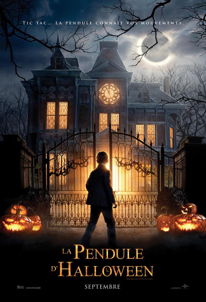 La pendule d'halloween